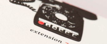 Extension 765 Stationery