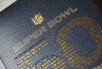 Super Bowl Invitation Print