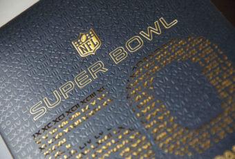 Super Bowl Invitation Print
