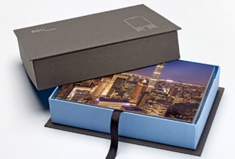Custom box and note cards