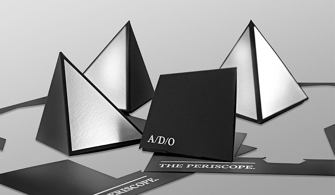 die cut 3d invitation