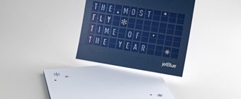 JetBlue Holiday Cards