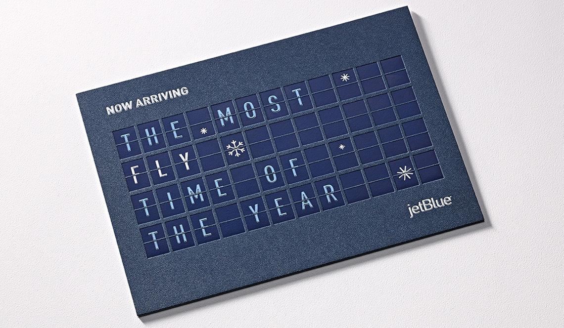 JetBlue Holiday Cards