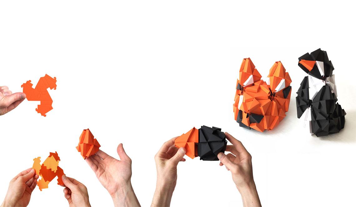 TROXES – Origami building blocks
