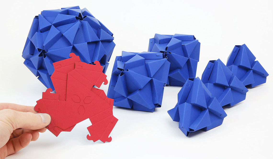 TROXES – Origami building blocks