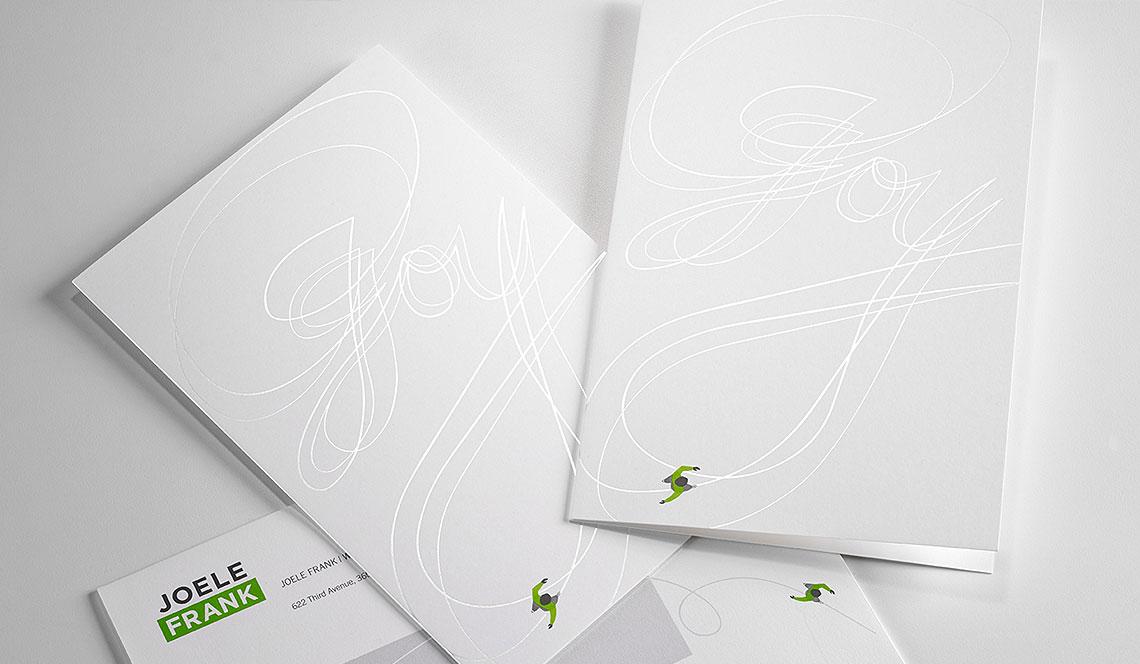 Joele Frank Holiday Cards and Envelopes