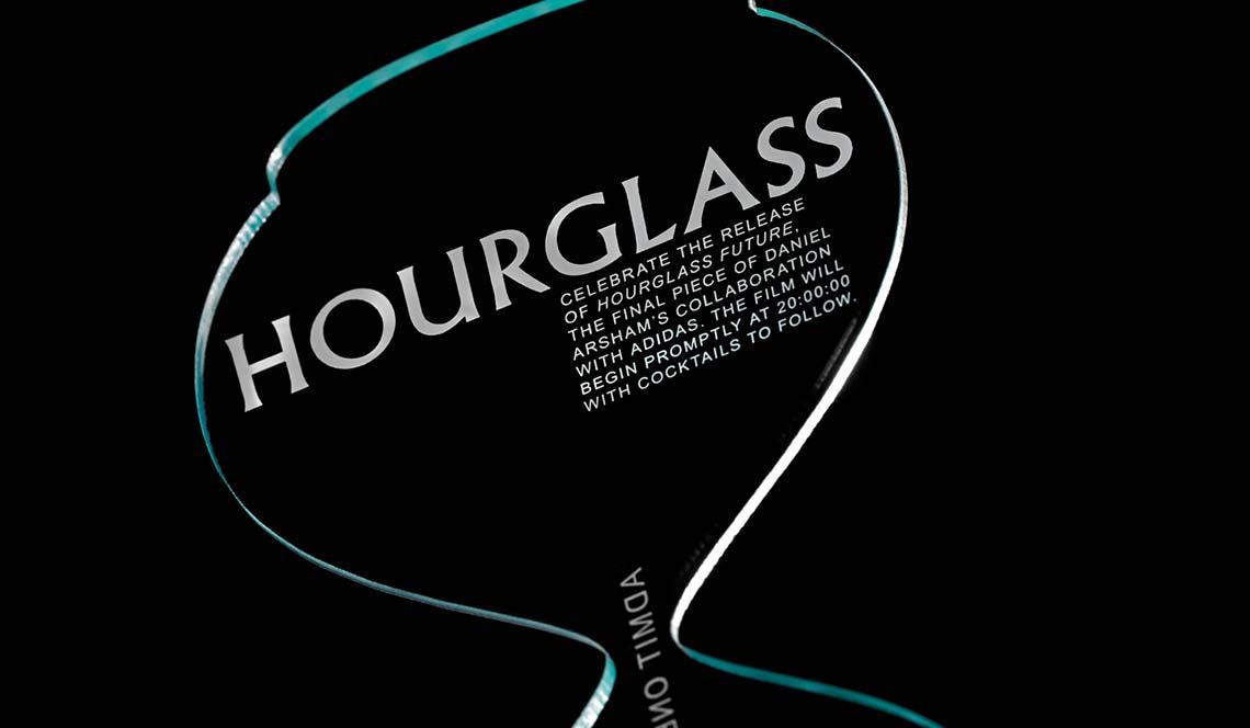 laser cut plexiglass invitation