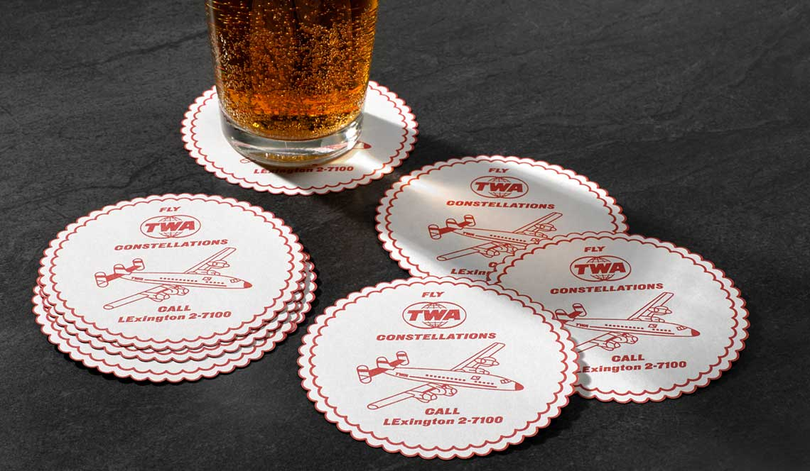 Custom Printed Coasters