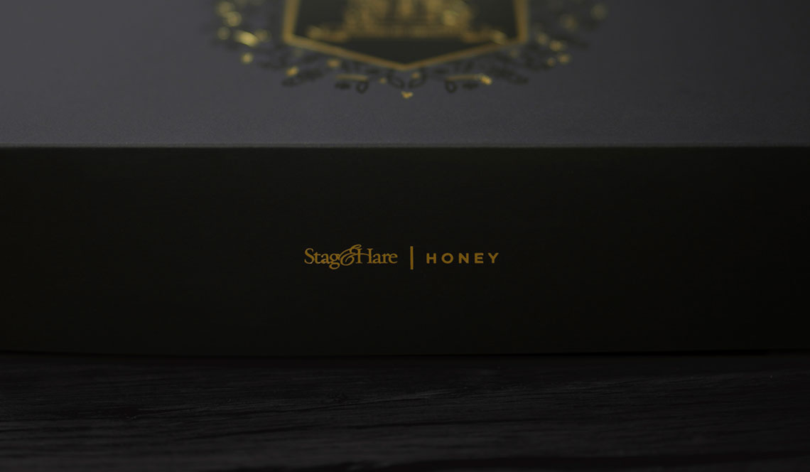 Stag&Hare Honey Packaging