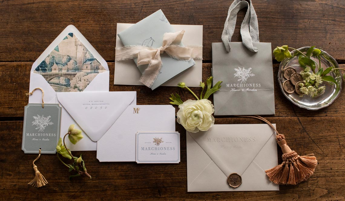 Luxury Branded Stationery for Marchioness